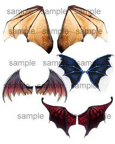 OOAK Fairy Dolffie Dragon Wing sheets