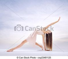 Stock Photo - Young dancer in art ballet figure - stock image, images, royalty free photo, stock photos, stock photograph, stock photographs, picture, pictures, graphic, graphics