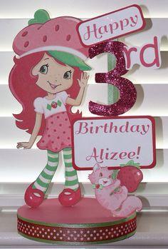 Strawberry Shortcake Custom Birthday Party by SplendidCelebration, $18.50