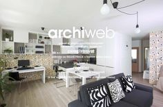 archiweb.cz - Interiér panelákového bytu, Praha 4