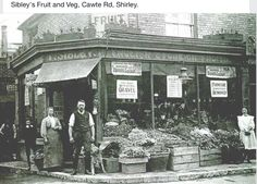 Sibley's Fruit and Veg, Cawte Rd, Shirley.