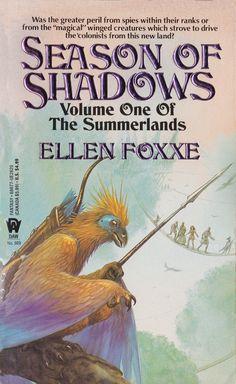 Ellen Foxxe. Season Of Shadows. D.A.W. Book No.989