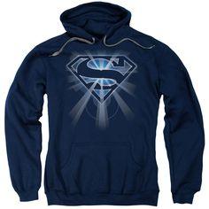 Superman: Glowing Shield Hoodie