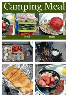 Similar Ideas This Meal Plan For Camping