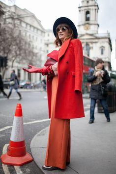 They Are Wearing: London Fashion Week Fall 2015