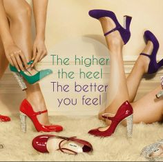 Always remember to keep your head, heels and standard high! #Fashion #Quote #Shoes