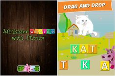Would you like to use apps in your class but find you're battling to obtain good Afrikaans apps? These four apps that will suit your pocket are available in Afrikaans. Afrikaans, Phonics, Little Ones, Apps, Teaching, Education, Logos, School, Children