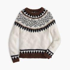 Cyber Monday: J.Crew Collection Fair Isle Sweater / Garance Doré