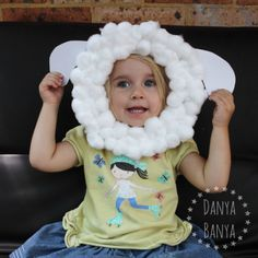 DIY Paper Plate Sheep Mask! How adorable!