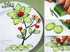 Bildergebnis für dekoracje na talerzu
