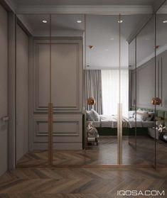 Master Bedroom with Walk In Closet Design . Master Bedroom with Walk In Closet Design . Modern Closet Doors, Bedroom Closet Doors, Bedroom Closet Design, Sliding Closet Doors, Bedroom Wardrobe, Bedroom Wall, Mirror Bedroom, Master Closet, Modern Wardrobe