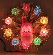 Vintage Christmas Tree Topper from the 1960s