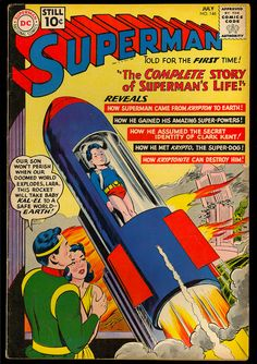 Superman - Before our comic book heroes' values were replaced with darker and more cynical ones by modern writers.