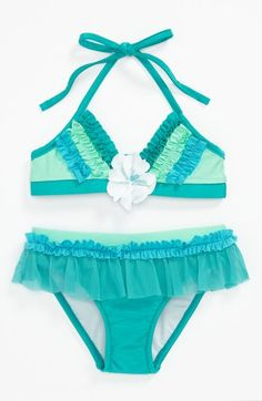 Love U Lots Two Piece Swimsuit (Toddler) available at #Nordstrom