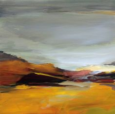 "Saatchi Art Artist Ute Laum; Painting, ""Abstract landscape Sylt I"" #art"