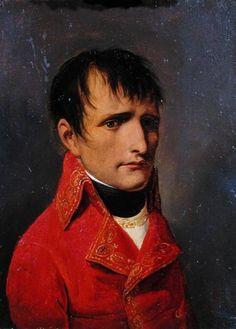portrait en buste de Bonapart par Isabey