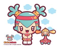 More Charuca Characters by Charuca Vargas, via Behance