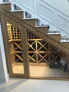 Nice 57 Wine Cellar Under the Stairs Ideas https://pinarchitecture.com/57-wine-cellar-under-the-stairs-ideas/