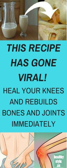 THIS RECIPE IS GOING CRAZY IN THE WORLD! HEAL YOUR KNEES AND REBUILDS BONES AND JOINTS IMMEDIATELY Over the years, it is common for our body to wear out and show age-related ailments; the bone and …