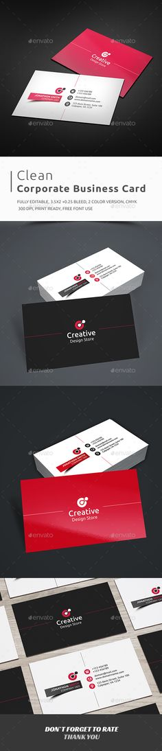 Business Card Template PSD #visitcard #design Download: http://graphicriver.net/item/business-card/13298166?ref=ksioks