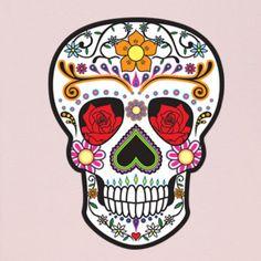 Nice designs on skull