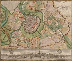 Vienna Metropolis c. 1730, by Mattaeus Seutter