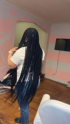 Box Braids Hairstyles For Black Women, Black Girl Braids, Dope Hairstyles, Braided Hairstyles For Wedding, Braided Hairstyles Tutorials, African Braids Hairstyles, Braids For Black Hair, Girl Hair Braids, Twist Braid Hairstyles