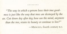 "Excerpt from the book ""The Secret Laws of Attraction"" by Talane Miedaner.   Tags: Mencius, quote"