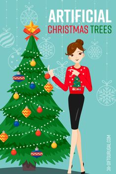 49f7780235e11 Realistic Artificial Christmas Trees are Everything! - Gift Guru Gal There  are some AMAZING realistic