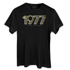 5aa5987675 Camiseta Masculina Luan Santana 1977  LuanSantanaShop  LuanSantana1977   1977  bandUPStore