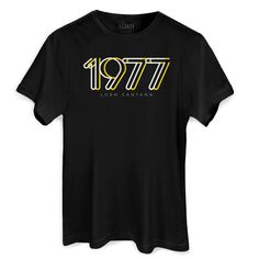 Camiseta Masculina Luan Santana 1977 #LuanSantanaShop #LuanSantana1977 #1977 #bandUPStore