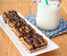 Low carb Somoa Bars?  REALLY?!?  This CAN'T be true!  Gotta try this...  Now.