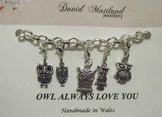 Owl Always Love You Lucky Charm Bracelet by DMaitlandJewellery