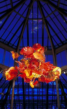 DALE CHIHULY - glass art