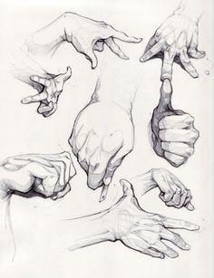#手部画法#