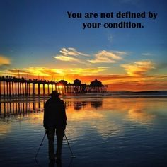 Life goes on. ...Concentrate on the things you are capable of. ...Find your balance. ...Do not see your condition as a hindrance. Keep Moving - Mobility is Life #Crutches #Inspiration #Positivity #Motivation #Moveon ##Quote #Mobility