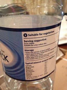Since when was water not suitable for vegetarians
