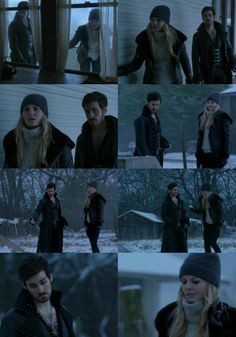"""Episode 3x14 """"The Tower"""" Screencaps (16) look at hooks face in that last one!"""