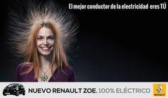 Javier Pastor y José Luis Morales, de la Universidad de Cádiz (España), nos envía esta #idea para el coche eléctrico Renault ZOE. ¿Qué te parece? ¡Envíanos tus #ideas, #anuncios o #campañas a info@adaspirant.com y las promocionaremos en nuestro portal, #facebook, #twitter y #pinterest! Además, participarán en el concurso ADaspirant.com como mejor anuncio del mes. ¿Te animas?