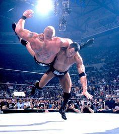 The Rock vs. Brock Lesnar