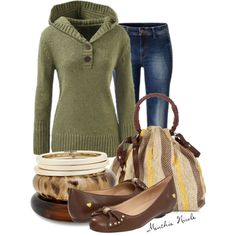 Casually Neutral, created by menthie-nicole-gomes on Polyvore