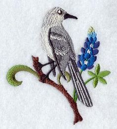 Machine Embroidery Designs at Embroidery Library! - Bluebonnets