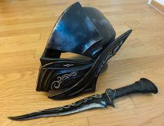 Skyrim Ebony Helmet - DONE by Folkenstal.deviantart.com on @deviantART