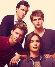 Ezra, Toby, Jason & Caleb <3