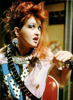 Cyndi Lauper!