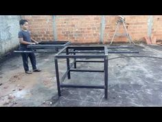 Table Saw, Outdoor Furniture, Outdoor Decor, Woodworking Shop, Youtube, Home Decor, Reciprocating Saw, Woodworking Ideas, Arquitetura