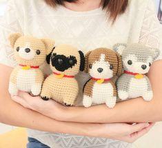 #beagle #beaglelover #puglover #chihuahua #chihuahualover #pug #siberian #siberianhusky #amigurumidog #amigurumianimal #handmadegift…