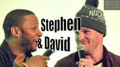 O Bromance de Stephen Amell e David Ramsey - Legendado