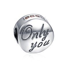 Only You Charm 925 Sterling Silver