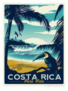Costa Rica Posters par Matthew Schnepf sur AllPosters.fr